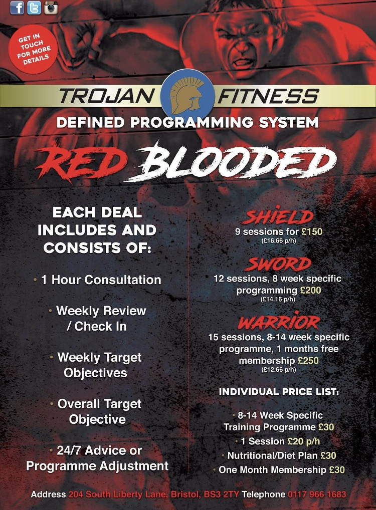 RED BLOODED training programs