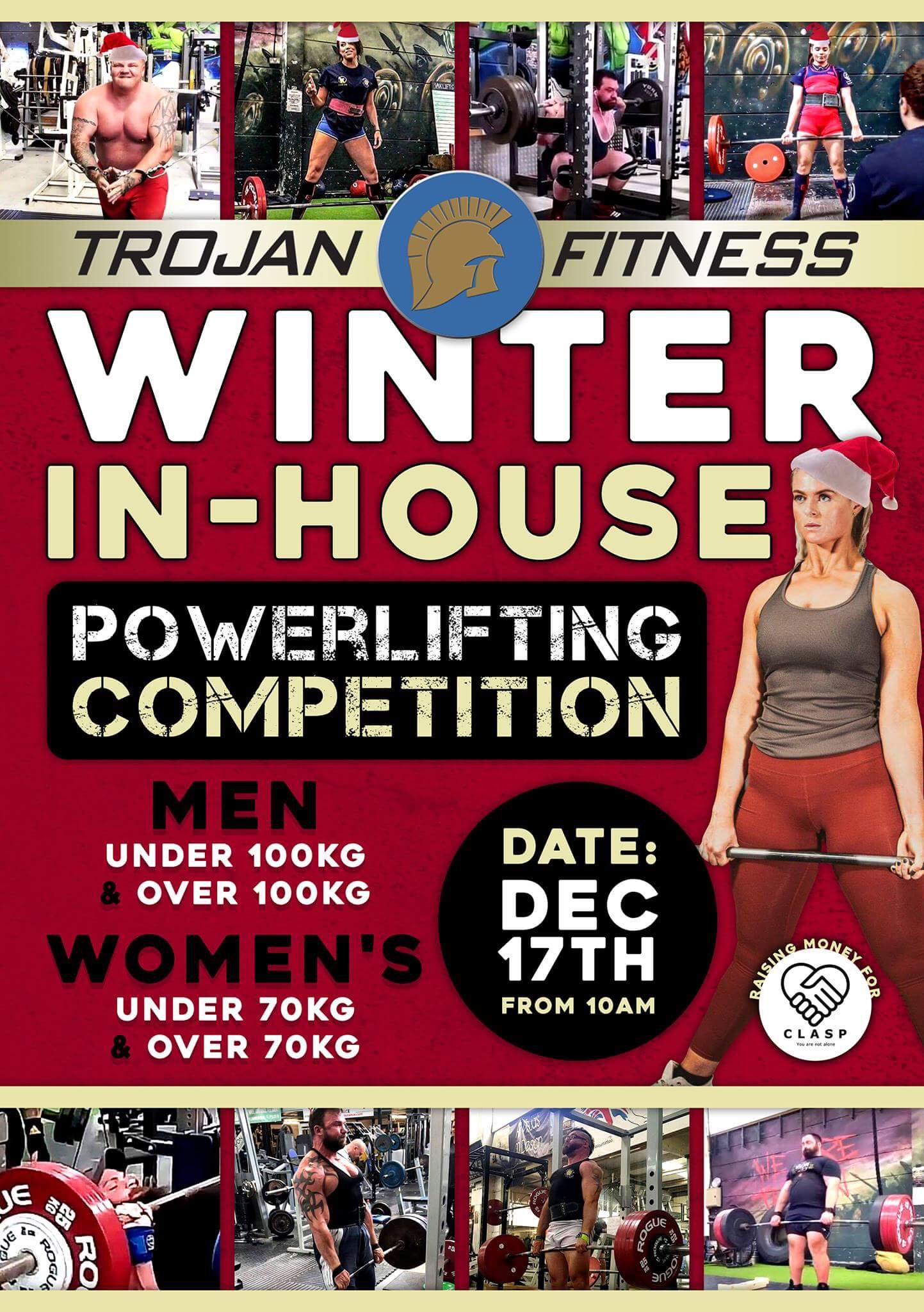 WINTER IN-HOUSE Powerlifting Competition